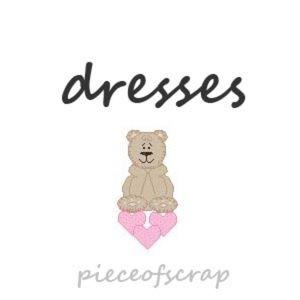 💕🐻 Shop pieceofscrap Dresses 🐻💕